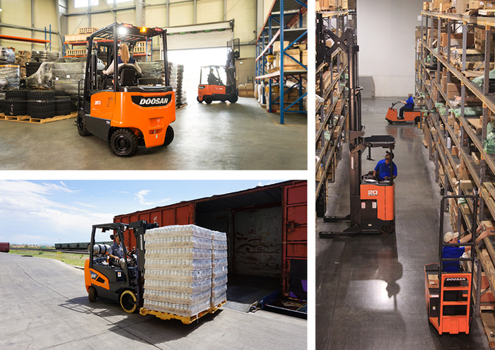 Doosan Forklift Models for Sale