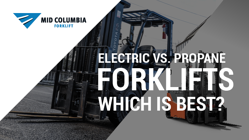 Blog Image  Electric Vs. Propane Forklifts - Which is Best