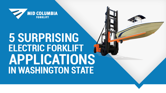 5 Surprising Electric Forklift Applications in Washington State
