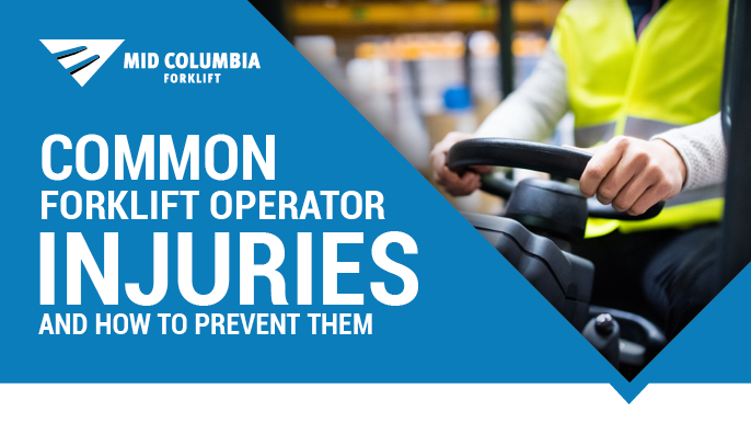 Blog Image - Common Forklift Operator Injuries and How to Prevent Them