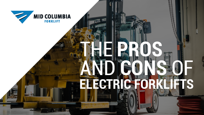 Blog Image - The Pros and Cons of Electric Forklifts