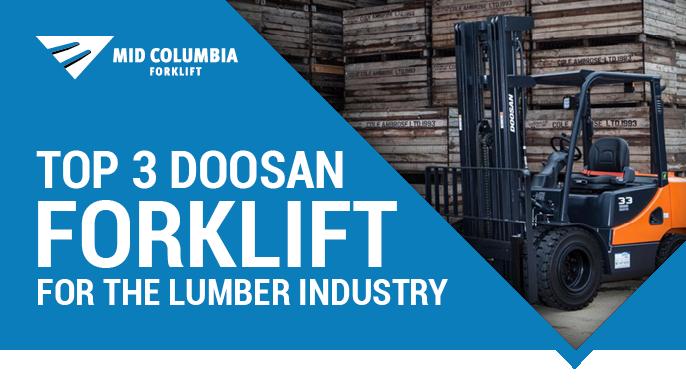 Blog Image - Top 3 Doosan Forklifts for the Lumber Industry