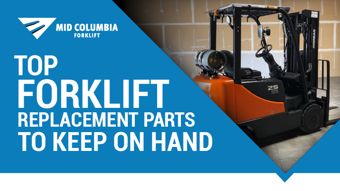 Blog Image - Top Forklift Replacement Parts to Keep On Hand