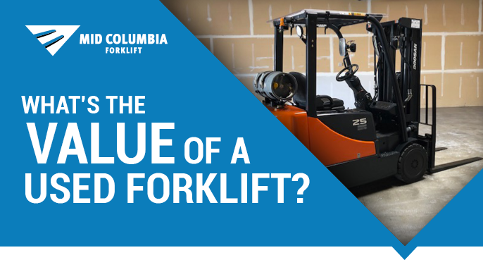 Blog Image - What's the Value of a Used Forklift