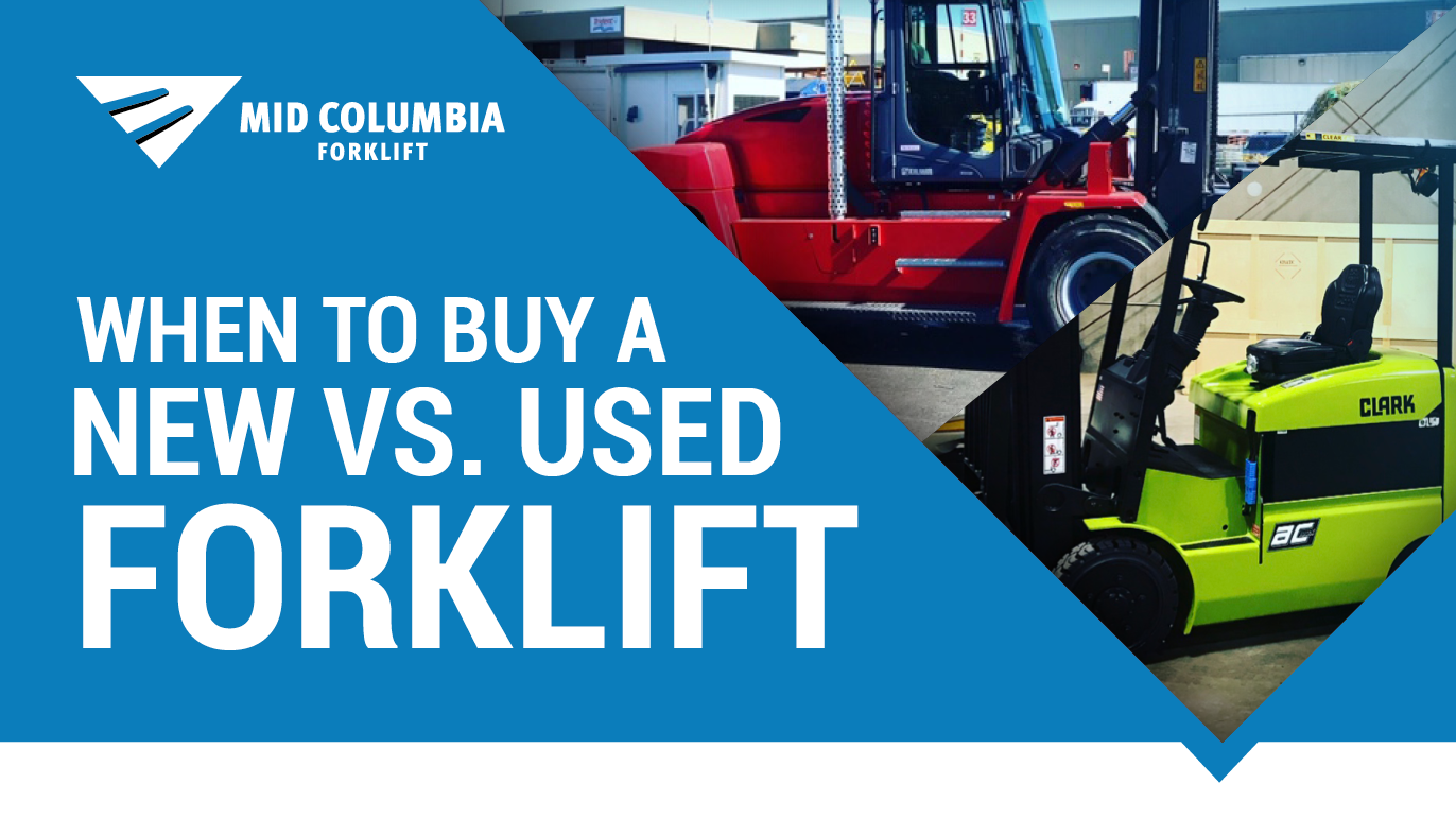 Blog Image - When to Buy a New Vs. Used Forklift