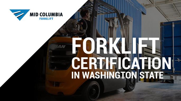 Blog Image Forklift Certification in Washington State
