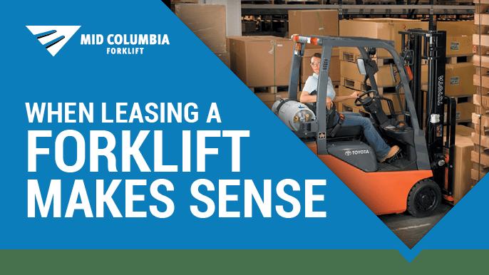 Blog Image - When Leasing a Forklift Makes Sense