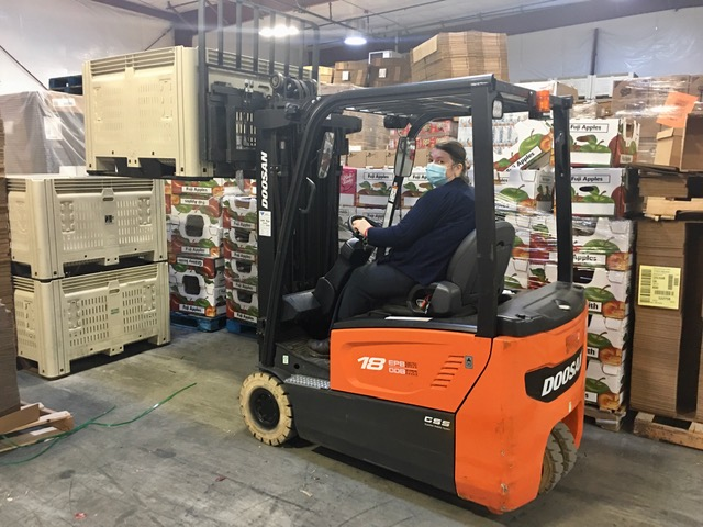 forklift tri cities