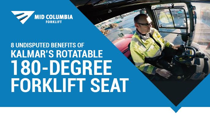 8 Undisputed Benefits of Kalmars Rotatable 180-Degree Forklift Seat