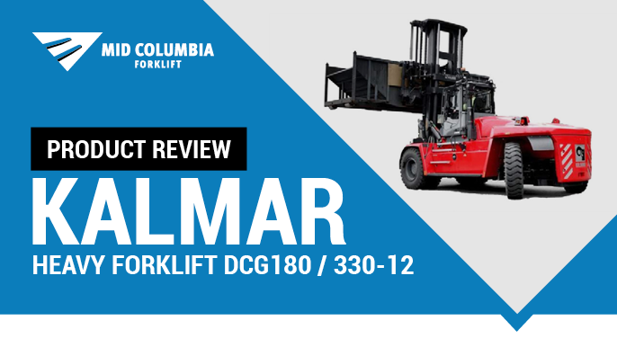 Product Review - Kalmar Heavy Forklift DCG180 - 330-12