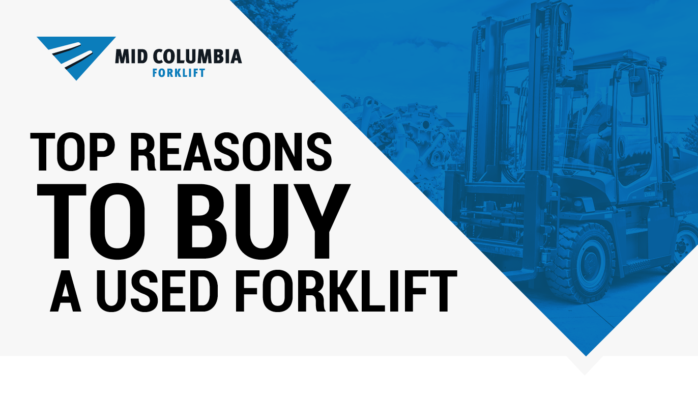MidCo Blog Image Top Reasons to Buy a Used Forklift 2x-5