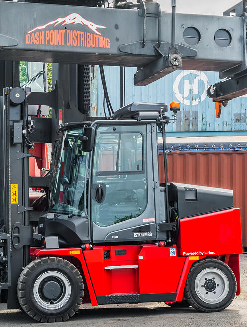 Heavy Duty Forklifts and Port Equipment
