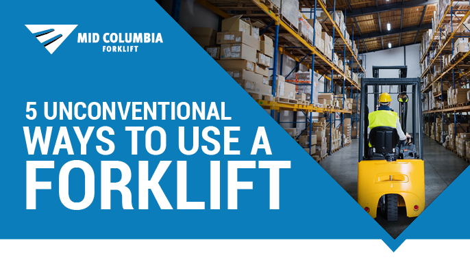 5 Unconventional Ways to Use a Forklift