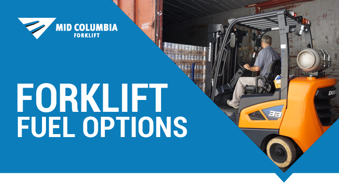 Fuel Options for Internal Combustion (IC) Forklifts