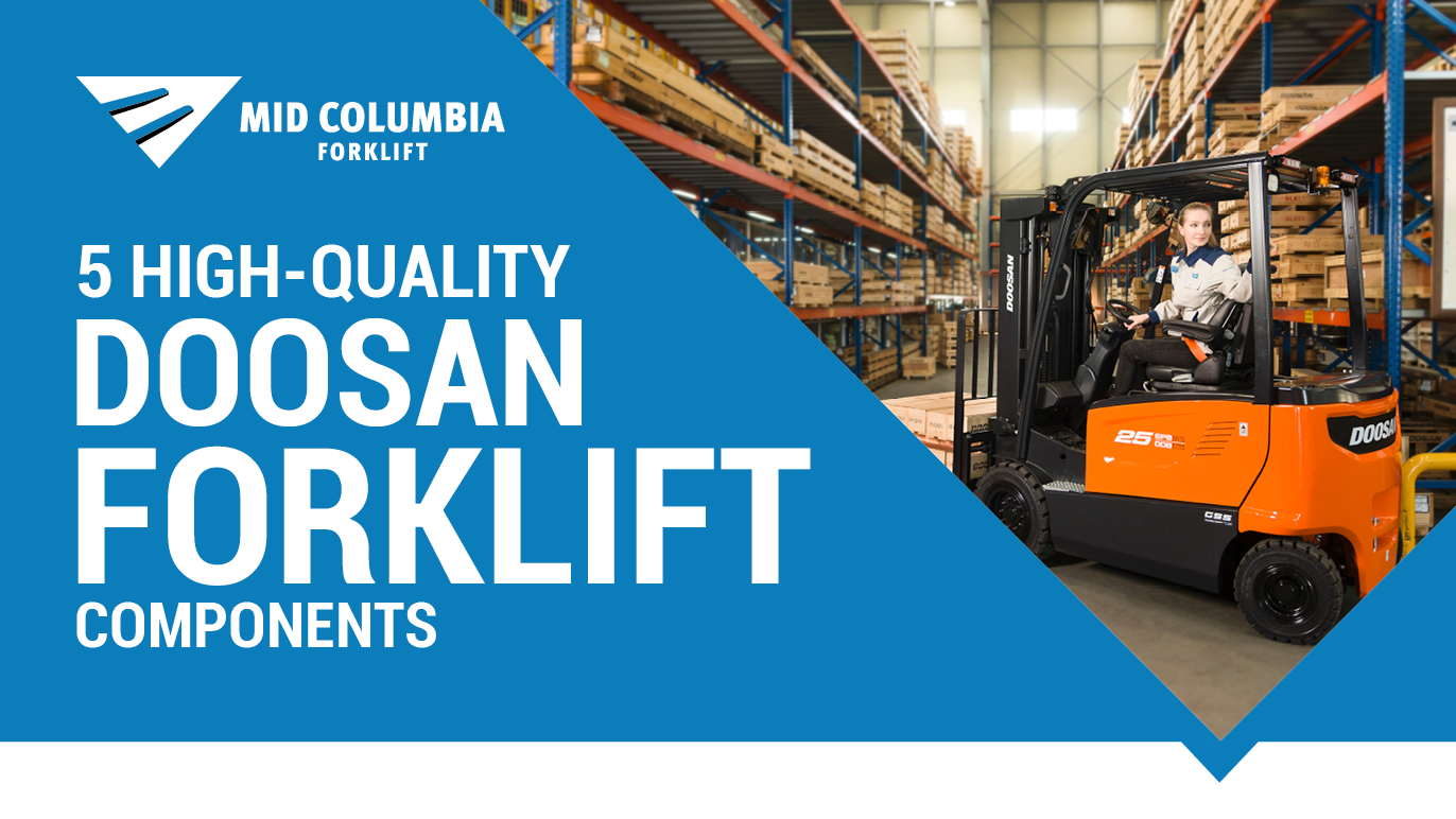 5 High-Quality Doosan Forklift Components