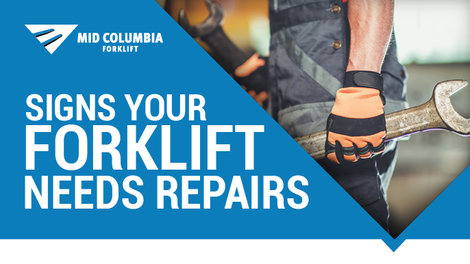 Signs Your Forklift Needs Repairs
