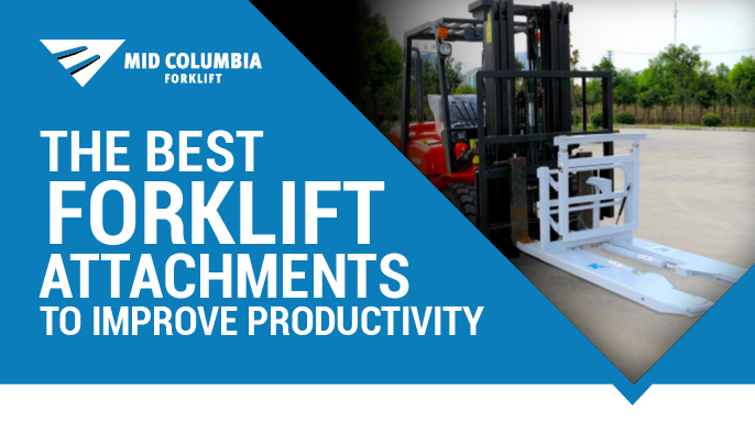 The Best Forklift Attachments to Improve Productivity