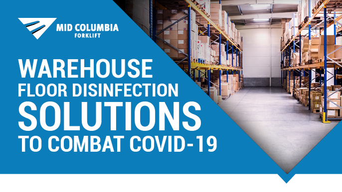Warehouse Floor Disinfection Solutions to Combat COVID-19
