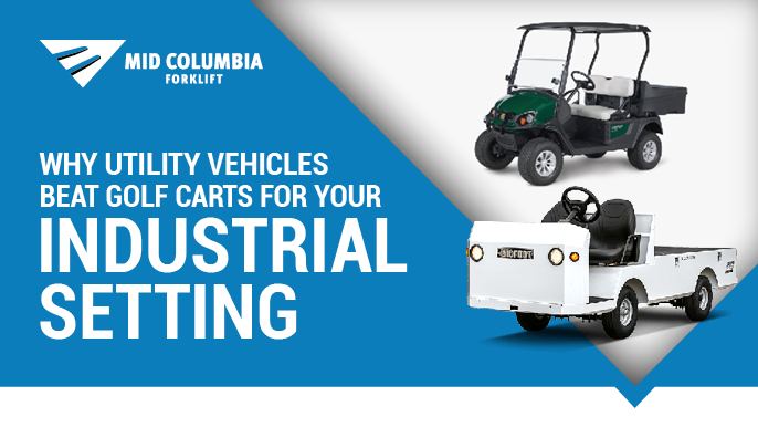 Why Utility Vehicles Beat Golf Carts for Your Industrial Setting