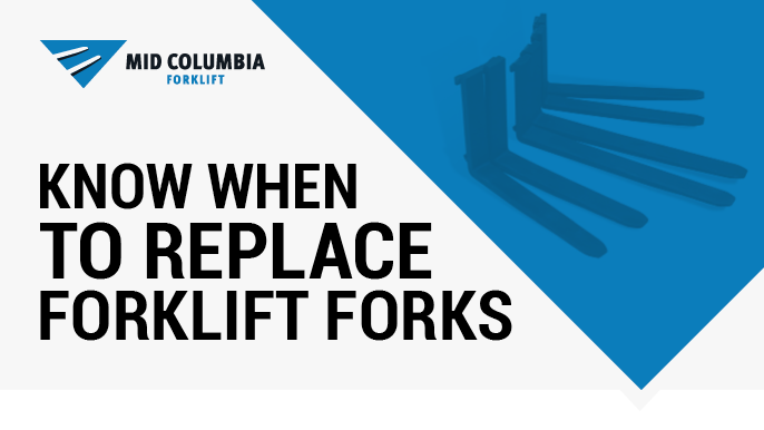 Know When to Replace Forklift Forks