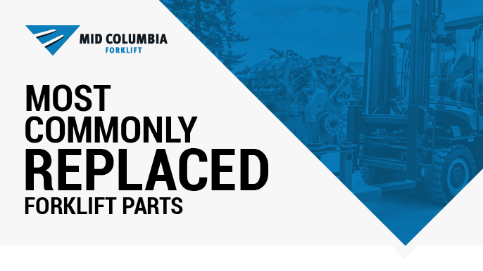 Most Commonly Replaced Forklift Parts