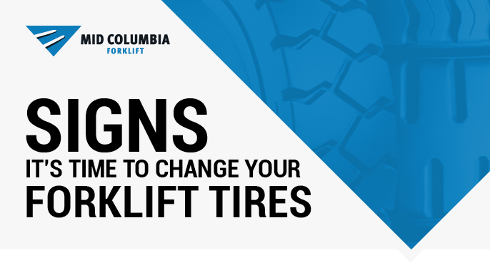 Signs It's Time to Change Your Forklift Tires
