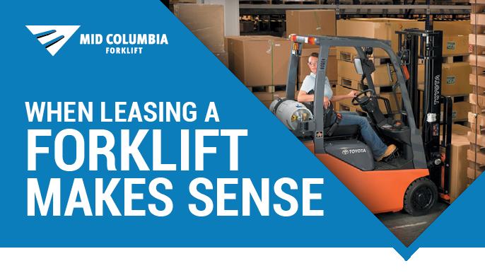When Leasing a Forklift Makes Sense