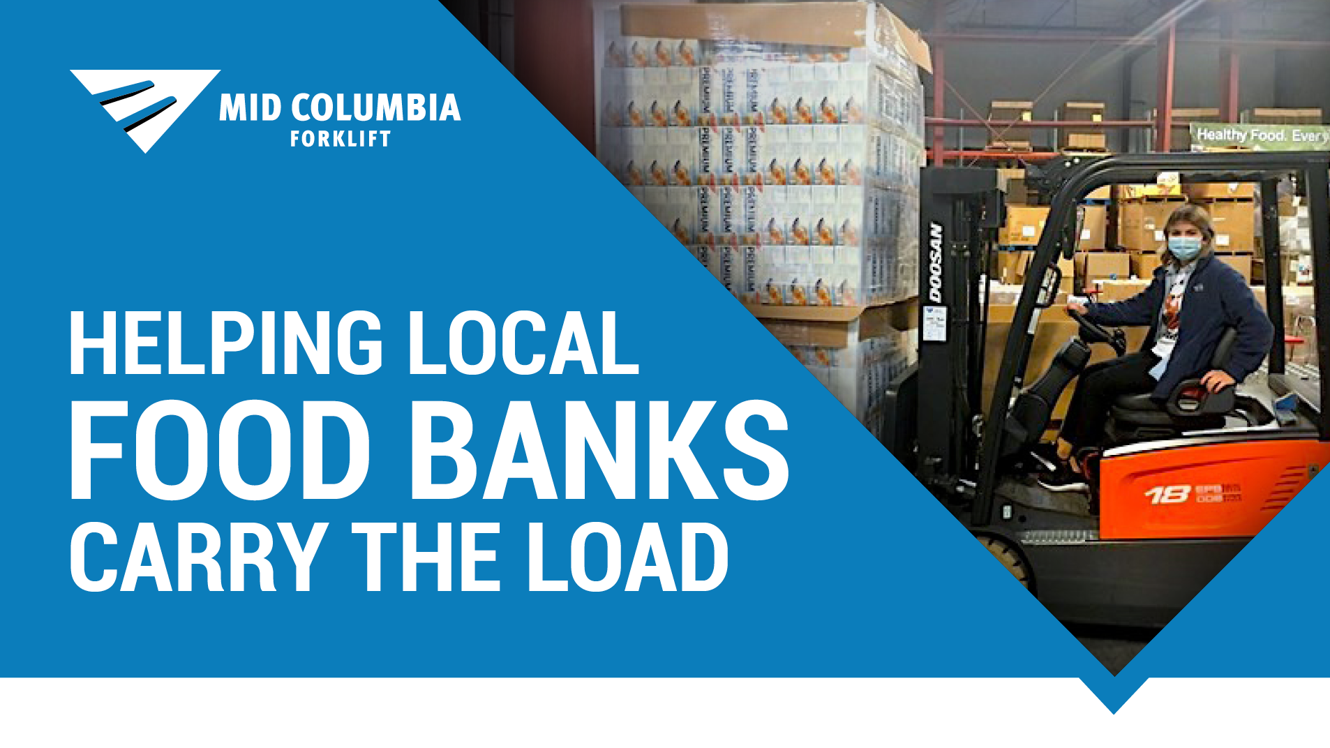 Helping Local Food Banks Carry the Load