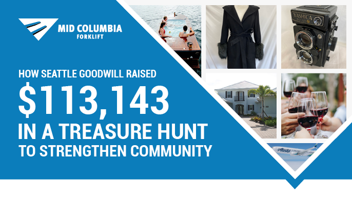 How Seattle Goodwill Raised $113,143 in a Treasure Hunt to Strengthen Community