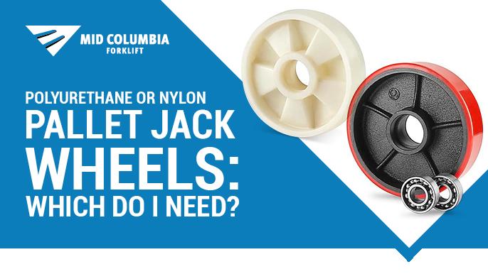 Polyurethane or Nylon Pallet Jack Wheels: Which Do I Need?