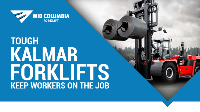 Tough Kalmar Forklifts Keep Workers On the Job