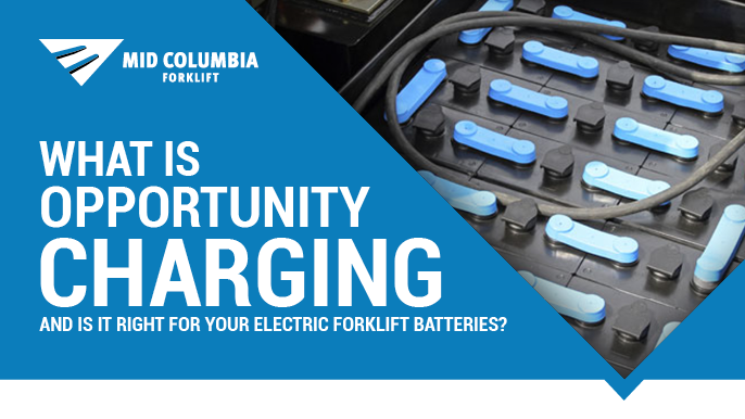 What Is Opportunity Charging and Is It Right For Your Electric Forklift Batteries?