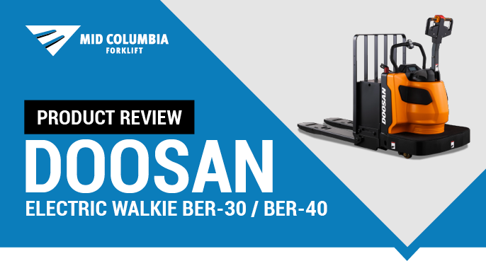Product Review: Doosan Electric Walkie Rider BER-30/40